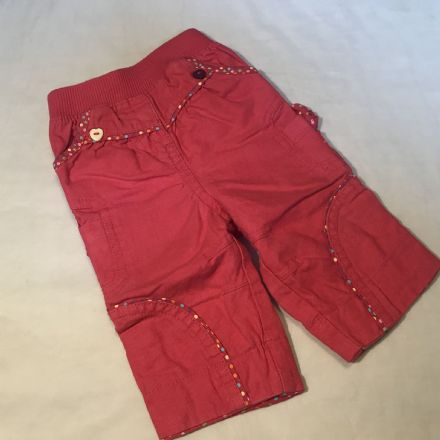 0-0 Newborn Canvas Trousers